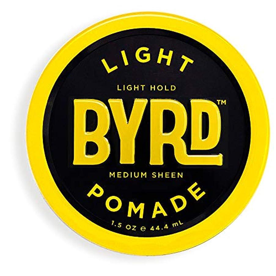 血色の良い仮定のりBYRD(バード)  ライトポマード 28g