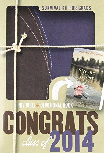 Download 2014 Survival Kit for Grads: Niv Bible + Devotional Book 0310432960