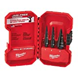 Bit Step Set 3pc Nos 1-2-4 by Milwaukee Electric Tools