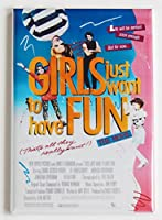 Girls Just Want to Have Fun映画ポスター冷蔵庫マグネット( 2 x 3インチ)