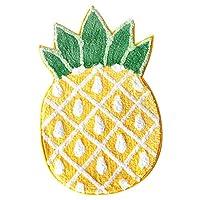 果物柄マット 半円型 レモン パイナップル 可愛い柄 洗える 滑り止め 付き 吸水 子供 ホームマット 寝室 店舗 玄関 室内用 パーティー オシャレ イエロー インス ラグ エコ 柔軟 収納簡単