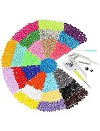 Snap Pliers 375 Set T5 Plastic Buttons Plier Studs Fasteners DIY Studs