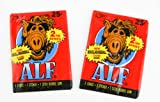 Two Packs of Alf Trading Cards Vintage - Red Packaging 2nd Series