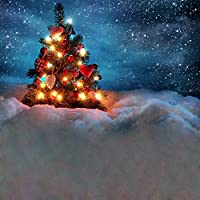 クリスマステーマビデオスタジオ背景コンピュータ印刷写真背景写真バックドロップCP _ g-008