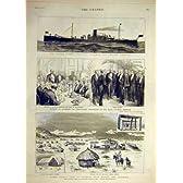 1889 米国空気銃の巡洋艦 Vesuvius Suakin Digna