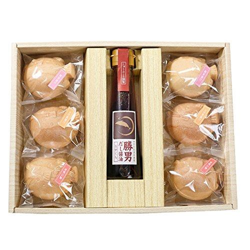 Omotenashi もなか茶漬け お吸い物 だししょうゆ セット  (B うすくちだし醤油)