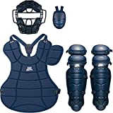 ZETT(ゼット) 野球用 軟式 キャッチャー 防具4点セット BL302SET ネイビー(2900)
