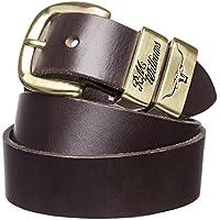 "R. M. Williams 1 1/2"" 3 Piece Solid Hide Belt"