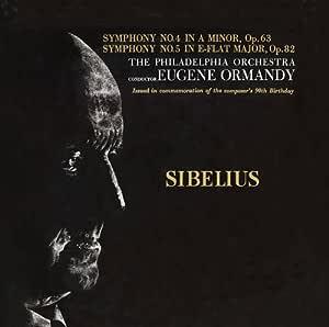 シベリウス/交響曲第4番・第5番 オーマンディ (CD-R)