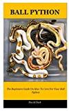 Ball Python: The Beginners Guide On How To Care For Your Ball Python