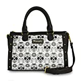 Loungefly Black/White Sugar Skull Duffle