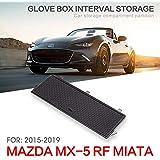 適用MAZDAマツダ MX-5 RF MIATA 2015-2019 専用 車の収納ボックス グローブボックス 層状パーティション 収納 センターコンソールトレイ 中央アームレスト