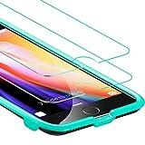 iPhone 7 Plus ガラスフィルム 2枚セット ESR 位置精確フレーム付け 強化ガラス - Best Reviews Guide