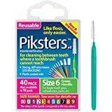 Piksters Interdental Brush Pack Of 40 Size 6 Green