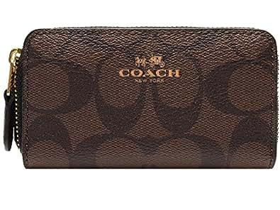 [コーチ] COACH 財布 (コインケース) F63975 ブラウン×ブラック IMAA8 シグネチャー メンズ レディース [アウトレット品] [並行輸入品]