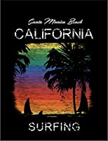 【FOX REPUBLIC】【レインボー サンセット サンタモニカ カリフォルニア】 黒光沢紙(フレーム無し)A3サイズ