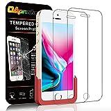 OAproda iPhone SE/5/5s 保護フィルム液晶強化ガラス【2枚セット/ ガイド枠付き】4.0inch
