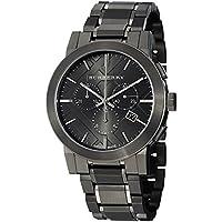 BURBERRY バーバリー 腕時計 並行輸入品 ウォッチ ステンレス シティ クロノグラフ ガンメタル BU9354 [時計]