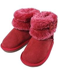 ミキハウス ホットビスケッツ (MIKIHOUSE HOT BISCUITS) ブーツ 73-9402-973 15cm 赤