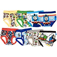 Handcraft Thomas The Train Toddler Boys Briefs Value 8-Pack Underwear Percy