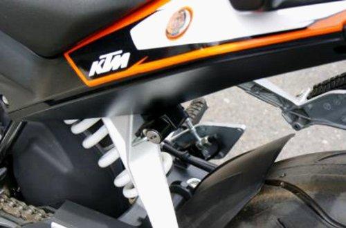 キジマ(Kijima) ヘルメットロック ブラック KTM DUKE125:12Y-/200:13y- KTM-05000