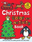 Christmas Color and Activity Book   (Priddy Bicknell Books)