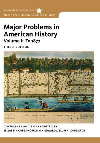 major problems in american military history documents and essays Major problems in the history of world war ii: documents and essays (review) ronald l spiller the journal of military history, volume.