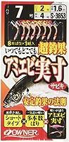 OWNER(オーナー) アミエビ実寸サビキ ピンクギジ 7-2-4 33653