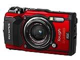 OLYMPUS デジタルカメラ  Tough TG-5 レッド 1200万画素CMOS F2.0 15m 防水 100kgf耐荷重 GPS+電子コンパス&内蔵Wi-Fi TG-5 RED 画像