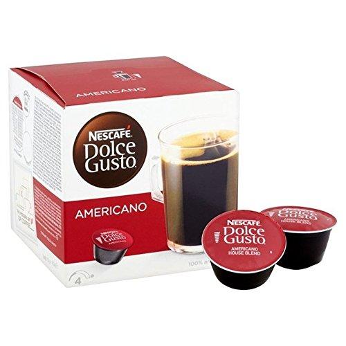 1パックネスカフェドルチェグストのカフェのアメリカーノ16 - Nescafe Dolce Gusto Caffe Americano 16 per...