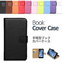 """【ケートラ】 GALAXY S9 ケース 手帳型 SC-02K SCV38 ブックカバーケース""""Book Cover Case"""" 手帳型ケース カバー 手帳型 (GALAXY S9 5.8インチ, ブラック)"""