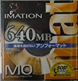 イメーション 640MB MO アンフォーマット