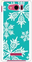 ohama SHL24 AQUOS PHONE SERIE mini アクオスフォン ハードケース y051_e スノウ 雪の結晶 スマホ ケース スマートフォン カバー カスタム ジャケット au