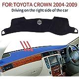 ダッシュマットに適用TOYOTA カーアクセサリー トヨタクラウン CROWN 12代目 18系 180系対応 2004-2008ダッシュボード カバー インテリア フロアマット車の日焼け止め …