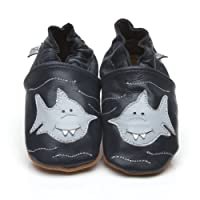 Soft Leather Baby Shoes Shark [ソフトレザーベビーシューズのサメ] 18-24 months (15 cm)