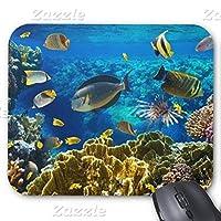 サンゴ礁のマウスパッドの熱帯魚のマウスパッドの写真