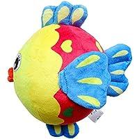 ychoice Lovely赤ちゃんおもちゃギフトベビー可愛い魚柔らかい手Rattles Bell KidsベビーFunnnyクロールベルボールおもちゃギフト