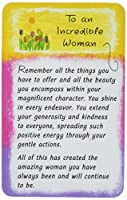 ブルーMountain Arts財布カードto an Incredible Woman ( wl564)