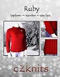 Ruby (Single Knitting Pattern) (English Edition)