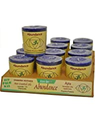 Aloha Bay 284760 Aloha Bay Chakra Votive Candle - Abundance - Case of 12 - 2 oz