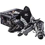 【並行輸入品】Mizuno(ミズノ) ユース samurai サムライ キャッチャー ボックスセット ブラック(9-12歳用)+NONOKUROオリジナルグッズの付セット商品