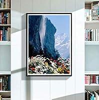 Xiyuyuan diy風景画山5Dフルダイヤモンドダイヤモンド塗装クロスステッチ装飾画