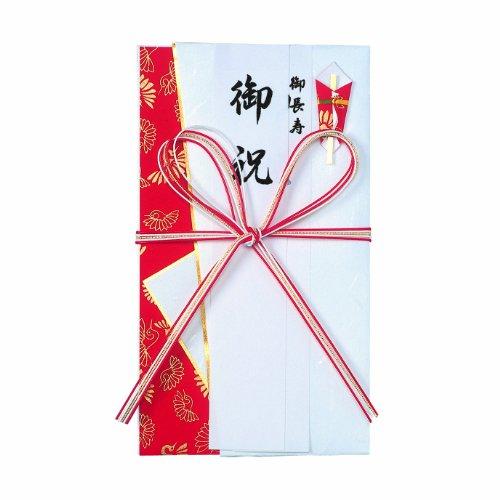 マルアイ 花結び5本 赤白 キ-595R