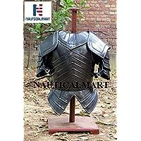 NauticalMart Medieval Knight Armor Costume W/Breastplate, Gorget & Pauldrons