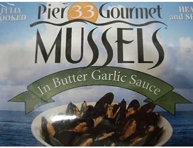 MUSSELS カマンチャカ ムール貝 バターガーリック味 454g X 2