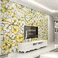 Hershop 壁のための顧客用美しい花の装飾的な絵画3D壁紙-150X120CM