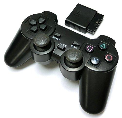PS2 ワイヤレスコントローラー (プレステ2で使える2.4Ghz無線コントローラー)