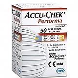 Accu Chek Performaアキュチェック パフォーマ 血糖値センサーチップ血糖測定器医療器糖尿病健康器具 50枚 [並行輸入品]
