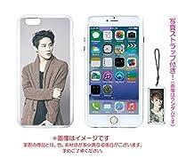 JYJ Xia ジュンス Apple iPhone6 Plus iPhone6Plus 専用 シリコンケース ジェリーケース 写真ストラップ付き