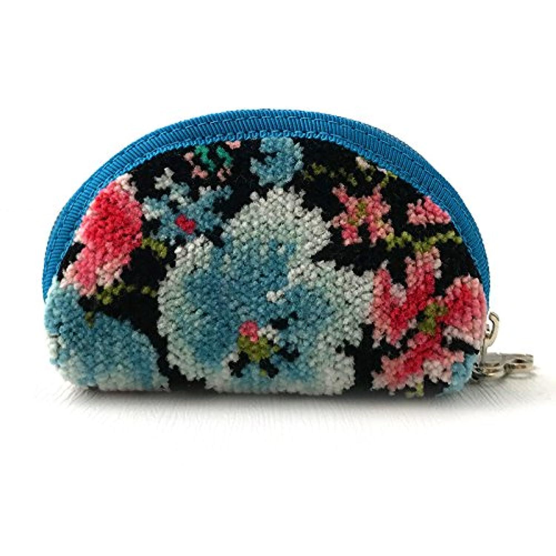 (アーンジョー) Enjeau ?アミー 小銭入れ? 日本製 シェニール織 チャーム付 小物入れ コインケース 財布 綿100% ギフト対応可